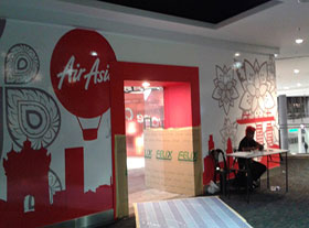 Air Asia -Relocation